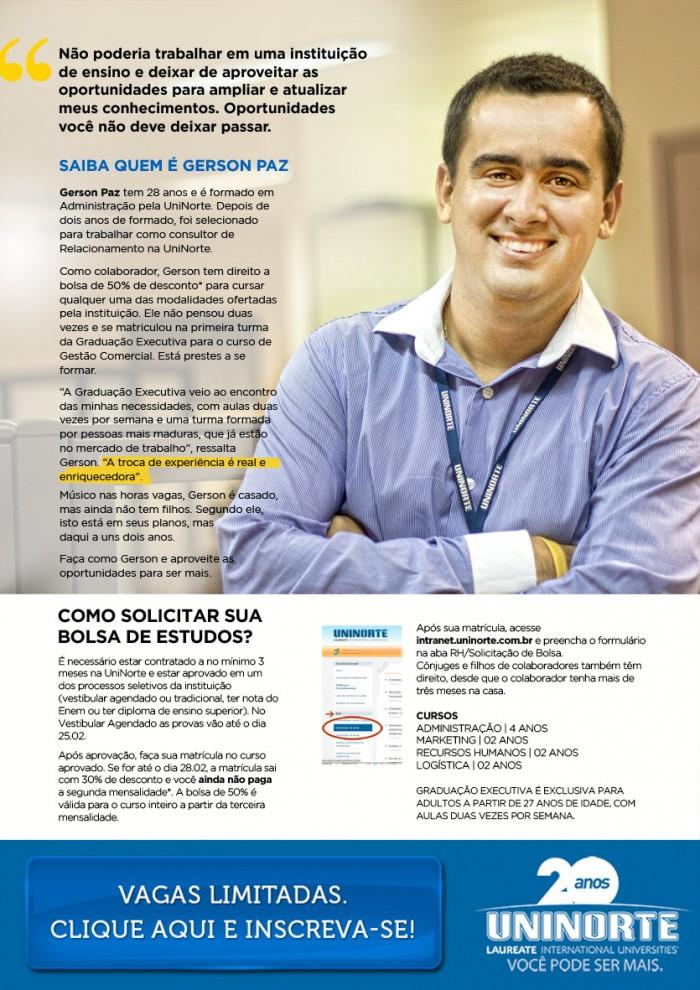 Conheça mais sobre o Gerson
