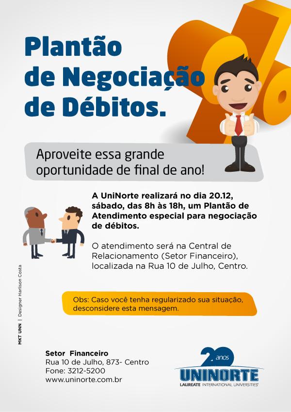Debitos e oportunidade UniNorte
