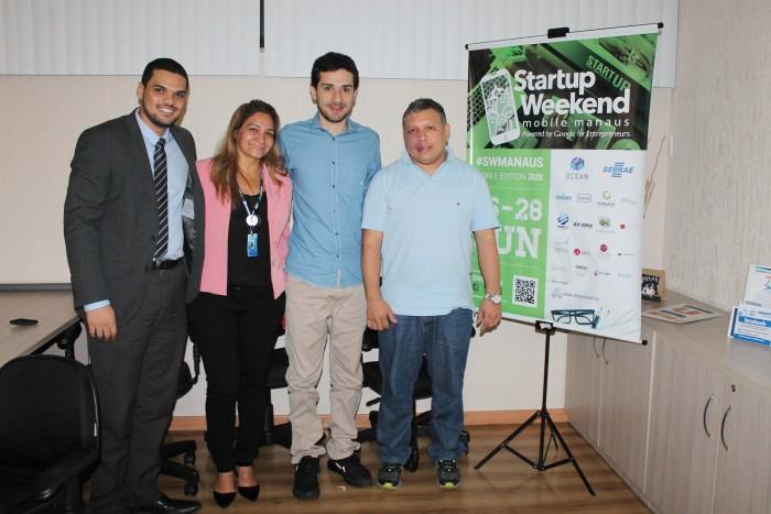 Daniel Goettenauer, Olinda Marinho, José Benchimol e Joab