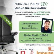 palestra jovens empreendedores